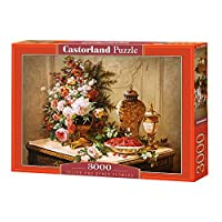 Castorland C-300488 Tulips And Other Flowers Jigsaw Puzzle
