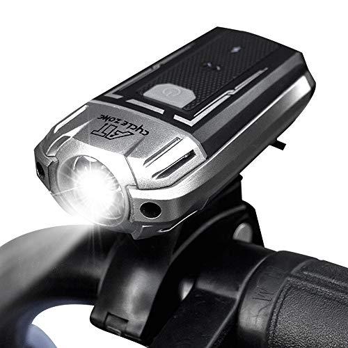 自転車ライト LED 自転車前照灯 高輝度 明るい USB充電 フロントライト 自転車 ヘッドライト 防水