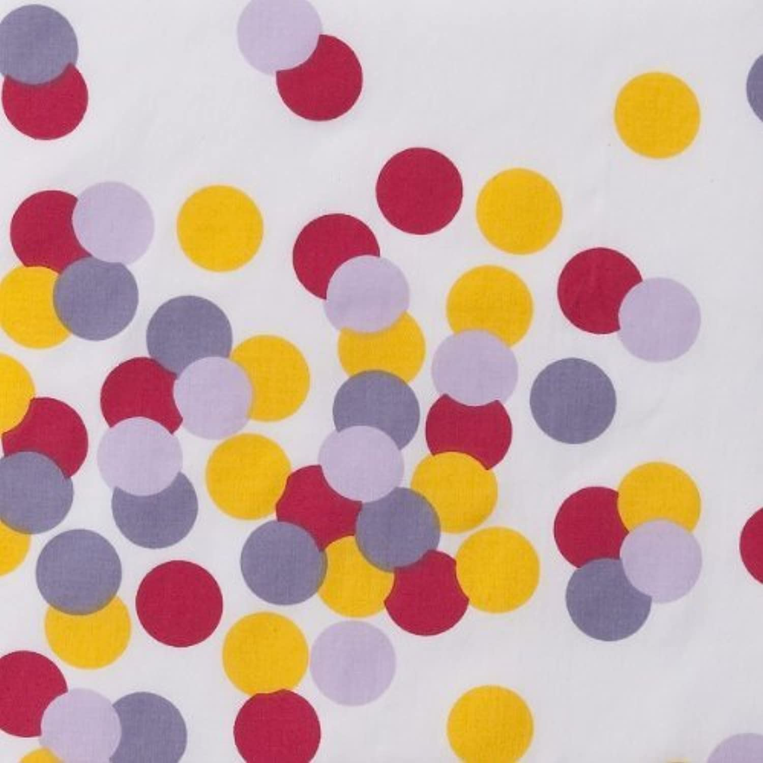 Sprinkles Printed 350 TC Fitted Sheet by Bacati