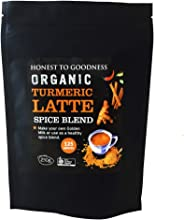 Honest to Goodness, Organic Turmeric Latte Spice Blend, 250g