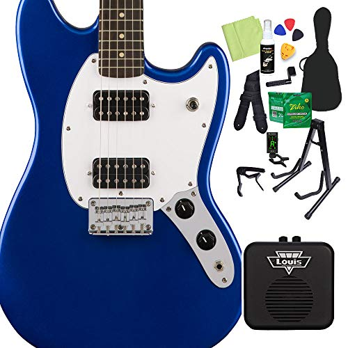 Squier Bullet Mustang HH [Imperial Blue]