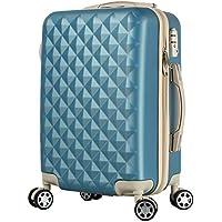 BASILO-012 スーツケース キャリーバッグ キャリーケース かわいい おしゃれ キルト風 ファスナータイプ 軽量…