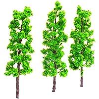 【ノーブランド品】樹木 モデルツリー 10本 高さ14cm 鉄道模型 ジオラマ
