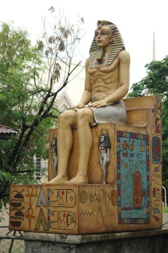 古代エジプト・王シッティング ビッグフィギュア(等身大フィギュア)