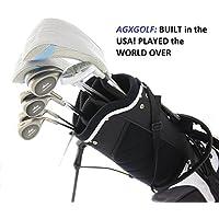 AGXGOLF Ladies Right Hand牡羊座CompleteゴルフクラブセットW /スタンドバッグ+ドライバー+ 3WD +ハイブリッド+ 5–9アイアン+ Pitchingウェッジ+無料パター:小柄、RegularまたはTall長; USA Built 。
