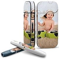IQOS 2.4 plus 専用スキンシール COMPLETE アイコス 全面セット サイド ボタン デコ 写真・風景 赤ちゃん 靴 001591
