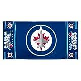 NHL Winnipeg Jets 30?by 60?Fiber Reactiveビーチタオル