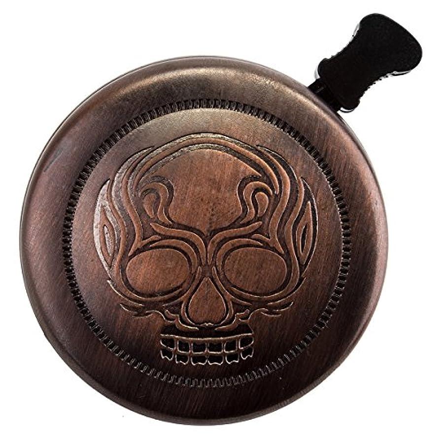 透過性地質学避難するSunlite Bronze Skull Bell by Sunlite