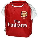 アーセナル フットボールクラブ Arsenal FC オフィシャル商品 サッカーシャツ ランチバッグ お弁当 かばん (ワンサイズ) (レッド)