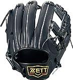 ゼット(ZETT) 硬式野球 プロステイタス グラブ (グローブ) セカンド・ショート用 ナイトブラック(1900N) 右投げ用 日本製 BPROG660