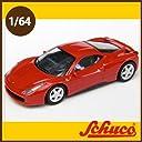 Schuco(シュコー)社ミニカー 452011500 フェラーリ458 イタリア レッド 1/64