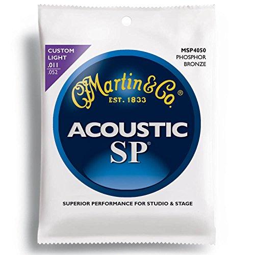 MARTIN MSP4050 92/8 Phosphor Bronze Custom Light アコースティックギター弦×10SET