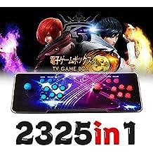 日本語版 2325 in 1  72種類 3Dゲーム パンドラボックス 7s アーケードゲーム機 アーケードコントローラー ビデオゲームコンソール コレクション ファイトスティック トーナメント 本体 ヒーローズボックス5 基板 2プレイヤー