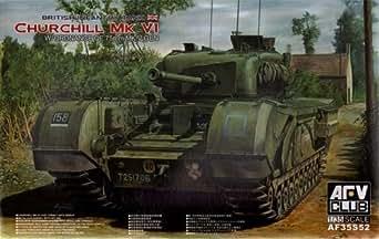 AFVクラブ 1/35 チャーチル歩兵戦車Mk.6/QF 75mm砲搭載
