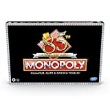 Monopoly 85TH Anniversary Edition Board Game, Celebrating 85 Years of Monopoly; With Golden Tokens; Classic Monopoly Gameplay; Ages 8 and Up,E99832841
