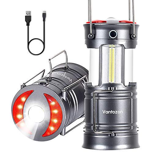 LEDランタンusb充電式 電池式 2in1給電方法 キャ...