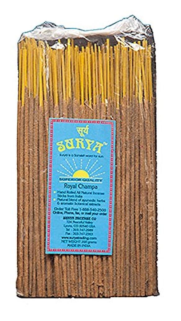 スコア相談弾丸ロイヤルChampa Incense SticksバンドルからSurya Incense会社