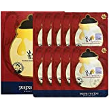 Paparecipe Bombee Ginseng Red Honey Oil Mask Pack 10ea [並行輸入品]