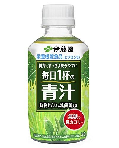 伊藤園 毎日1杯の青汁&乳酸菌 240g×24本