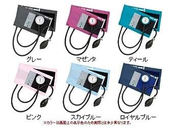 ギヤフリーアネロイド血圧計 ナイロン製カフ 成人用 GF700-01/02/03/04/05/07 07:ロイヤルブルー