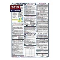 """ネブラスカ州労働法ポスター(ラミネート加工) All - in - One状態と連邦承認、OSHA準拠垂直27"""" x40"""" [ ne2–27x 40-eng ]"""