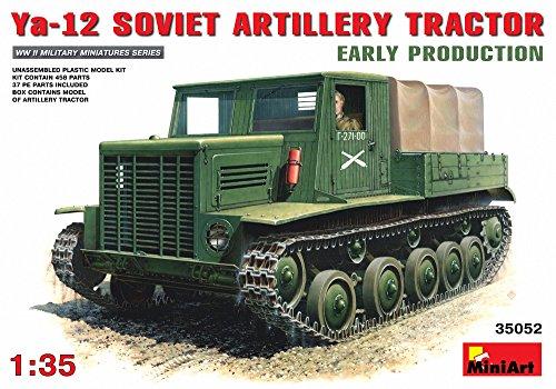 ミニアート 1/35 Ya-12ソビエト砲兵トラクター MA35052