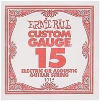 【正規品】 Ernie Ball バラ弦 15 ゲージ 6本セット #1015