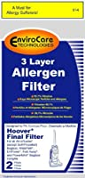 Hoover Three-Layer Final Filter for WindTunnel Vacuums, 40110004 by EnviroCare