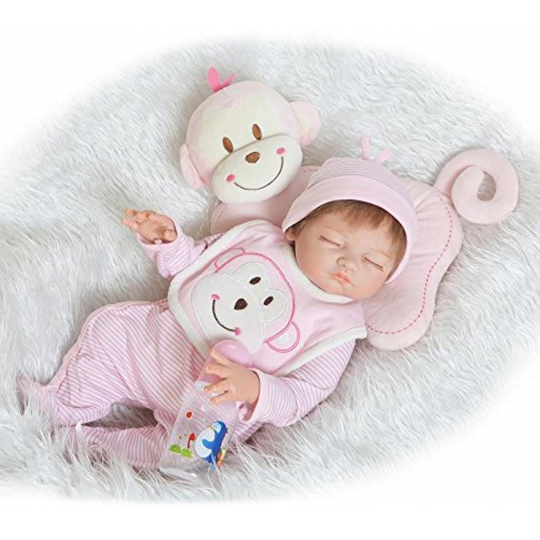Realistic Reborn新生児赤ちゃん人形20インチ50 cm体全体SiliconeビニールLifelikeベビーClosed Eyes人形