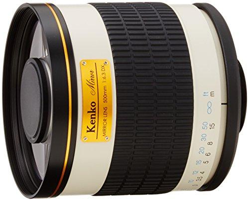 Kenko 望遠レンズ ミラーレンズ 500mm F6.3 DX マニュアルフォーカス フィルム/デジタル一眼対応