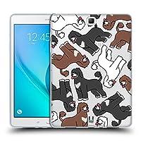 Head Case Designs ポルトギース・ウォーター ドッグブリード・パターン8 Samsung Galaxy Tab A 9.7 専用ソフトジェルケース