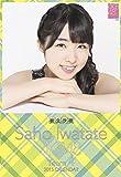 クリアファイル付 (卓上)AKB48 岩立沙穂 カレンダー 2015年