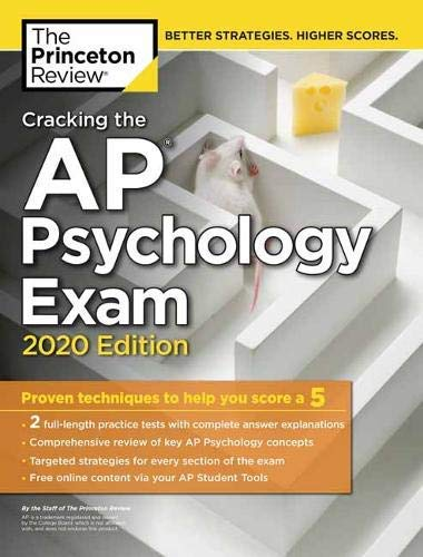 Cracking the AP Psychology Exam, 2020 Edition: Practice Tests & Prep for the NEW 2020 Exam (College Test Preparation) (English Edition)