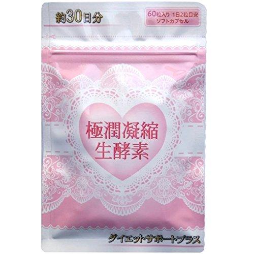 【公式】極潤凝縮生酵素 30日分 60粒 ダイエットサポート...
