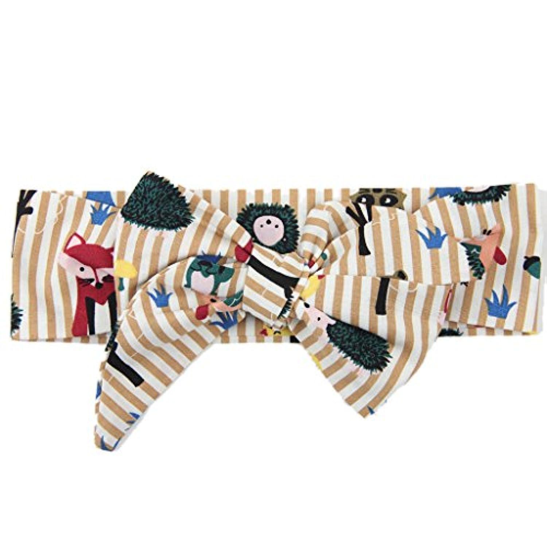 【ノーブランド 品】子供 女の子 ヘアバンド カチューシャ カーキ 動物 かわいい ヘアアクセサリー ギフト