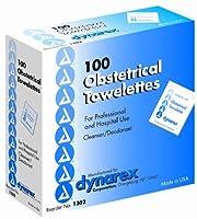 Obstetrical Towelettes-OB Towelettes-Dynarex#13025x71000/Case [並行輸入品]