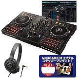 Pioneer DJ パイオニア DDJ-400 + ATH-S100 DJコントローラー+ヘッドホンセット