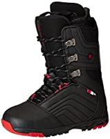 DC Scendent Snowboard Boots Black/Red Size 7 [並行輸入品]