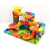 Rivetrix 139PCS Marble Race Run Building Block Toys for Boys and Girls.
