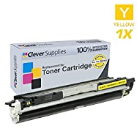 Clever Supplies互換for HP 100Color MFP m175nw ( ce310a ce311a ce312a ce313a ) HP 126A、色、LaserJet cp1020、cp1025nw、Pro m175nw、Pro 100Color MFP m175nwトナーカートリッジ4色セット