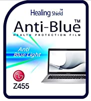 Healingshield スキンシール液晶保護フィルム Eye Protection Anti UV Blue Ray Film for Lg Laptop Z455