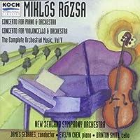 Rosza;Orchestral Music Vol.5