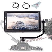 カメラ液晶モニター FEELWORLD F6 5.7インチIPSモニター フルHD撮影モニター 1920x1080 オンカメラビデオモニター フィールドモニター  4K HDMI信号入力 カメラに電源供給可能 DSLR デジタル 一眼レフカメラ ビデオカメラ用 日本語説明書付