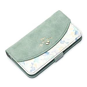 Premium Style iPhone 8/7/6s/6 ケース 手帳型(ミラー/ストラップホール付き) アリエル PG-DFP392ARL