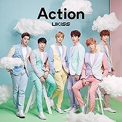 U-KISS「Action」のCDジャケット
