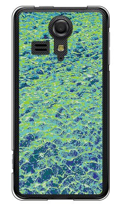 Coverfull スパークリング ウォーター サーフェイス (クリア) / for KC-01/UQ mobile MKYKC1-PCNT-212-M736 MKYKC1-PCNT-212-M736