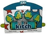 MSC International L 'il Kitchローリングピン&クッキーカッターセット–Lil Kitch–ブルーby MSC