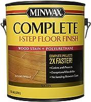Minwax 6720100001Gサテン秋小麦Complete 1-step床仕上げ