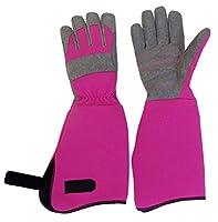 ソフトガーデングローブ 手袋 ガーデニング 庭 園芸 家庭菜園 軽量 トゲ 長袖