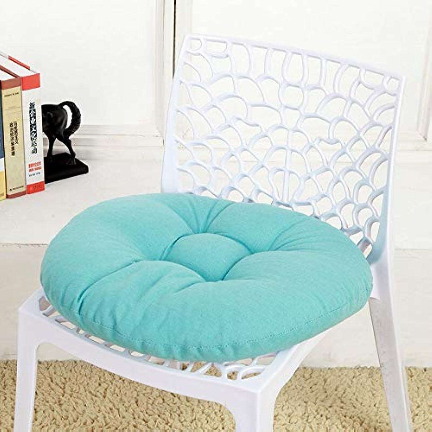 クランシーサラミ投げ捨てるLIFE キャンディカラーのクッションラウンドシートクッション波ウィンドウシートクッションクッション家の装飾パッドラウンド枕シート枕椅子座る枕 クッション 椅子